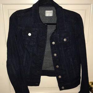 Dark Denim Jacket from Elle